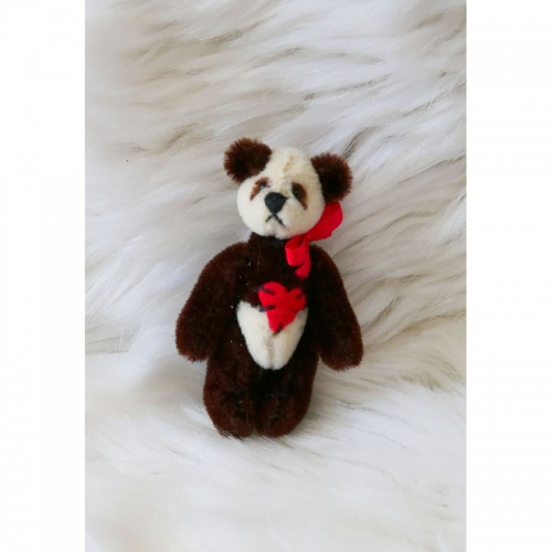 Deb Canham Dolls House Red Panda Teddy